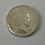 Новая Зеландия 20 пенсов 2008 года., фото №8