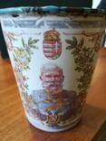 Коронационный юбилейный стакан 1848-1908 год Австрия,Кайзер (оригинал), фото №3