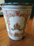 Коронационный юбилейный стакан 1848-1908 год Австрия,Кайзер (оригинал), фото №6