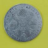 Миланское герцогство (Австрия, Франц II) 1 крочионе, кроненталер 1796 М серебро КМ-239 VF, фото №3