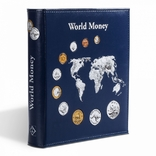 Альбом Leuchtturm, Optima World Money с 5 листами на 152 монеты с футляром, фото №3