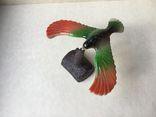 Парящий  орел, балансирующая птица на клюве, отличная научная игрушка., фото №2