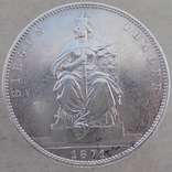 1 талер 1871 г. Вильгельм. Пруссия., фото №2