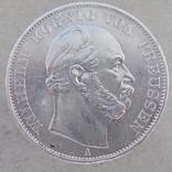 1 талер 1871 г. Вильгельм. Пруссия., фото №3
