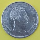 Монета Саксония 1 талер Серебро 1828р., фото №3
