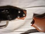 Детское духовое ружье двухстволка СССР клейма + знак качества, фото №4