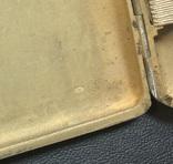 Серебряный портсигар 875 пробы, фото №11