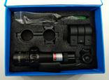 Лазерный целеуказатель LASER. Новый. + зарядка для аккумулятора., фото №3