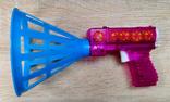 Игрушка пистолет  с шариками корзинка, СССР., фото №3