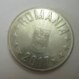 Румыния 10 бани 2017 год., фото №6