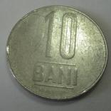 Румыния 10 бани 2008 год., фото №3