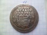 1 талер 1609 рік копія, фото №2