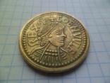 Копія золотої монети копія, фото №3