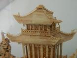 Пано - діорама китайська мініатюра, ручна робота ( коркове дерево ), фото №3