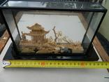 Пано - діорама китайська мініатюра, ручна робота ( коркове дерево ), фото №11
