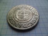 Монета середньовіча 1644 рік копія, фото №3