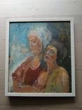 """""""Изгнание.."""" к.м. 44х38 см.,1982г.,Лариса Жданова, фото №8"""