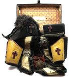 Масонский комплект в родном сундуке, 1890-1920 гг., фото №2