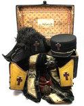 Масонский комплект в родном сундуке, 1890-1920 гг., фото №3