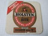 Підкладка під келих пива Holsten, фото №2