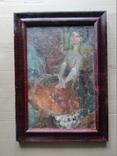 """Балерина"" к.м.34х23 см. Лариса Жданова(1937-2017), фото №3"