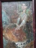 """Балерина"" к.м.34х23 см. Лариса Жданова(1937-2017), фото №4"