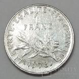 Франція 1 франк, 1978