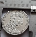 1 талер, 1861 Коронация Вильгельма I и Августы, фото №9