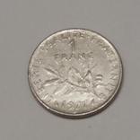 Франція 1 франк, 1977