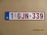 Номер на авто алюминий (170гр.), фото №2