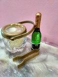 Мини (микро) бутылочка шампанское в ведерке 60-80 годы, фото №5