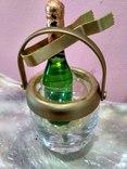 Мини (микро) бутылочка шампанское в ведерке 60-80 годы, фото №9
