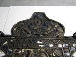 Часть складня Чудо Георгия о змие. 11 Х 8,5см, фото №7