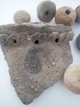 Скифские прясла, грузила, часть горшка, фото №3