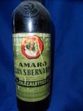 Ликер AMARO GRAN S. BERNARDO 0.73L gr 45 TORINO Италия 1960 - 70 е, фото №5