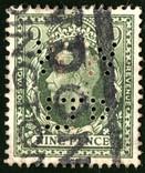 "Великобритания - King George V ""WW LTD"" Perfin, фото №2"