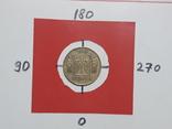25 копеек 1992 брак поворот 180°, фото №3