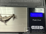 Серебряная брошь 925 в виде Дильфина  10,7 грамм, фото №5