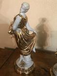 Пара богинь 1900- е ( Неаполь) 22 см, фото №7