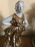 Пара богинь 1900- е ( Неаполь) 22 см, фото №13