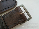 Военный кожаный ремень (портупея) с подкладкой р.4х105см., фото №6