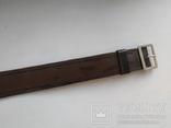 Военный кожаный ремень (портупея) с подкладкой р.4х105см., фото №8