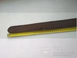 Военный кожаный ремень (портупея) с подкладкой р.4х105см., фото №10
