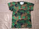 Лот 4 Новая футболка армии Бельгии, пр.р.XL 8595-9505, фото №2