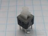 Кнопка микро 5,8х5,8 MPS 580 6 pin фикс 40 шт, фото №2