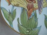 """Коллекционная тарелка """"Ушастый колибри"""" Hutschenreuther. Художник Оле Винтер ., фото №6"""