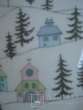 Коллекционная тарелка Rosenthal Weihnachten 1987. Художница Линнеа Рут Брюк., фото №4