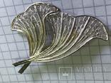 Винтажная брошь 925 серебро, фото №2
