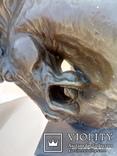 Голова лошади бронза мрамор Европа 4 кг, фото №4