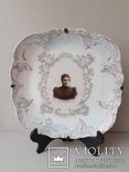 Тарелка настенная с портретом, фото №2